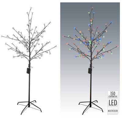 svietiaci led strom 150 cm na baterky s asov m sp na om 3 farby viano n strom eky. Black Bedroom Furniture Sets. Home Design Ideas