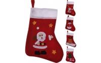 [Mikulášska ponožka s vianočným obrázkom]