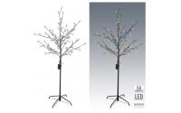 [Svietiaci LED strom 150 cm na baterky s časovým spínačom - 2 farby]