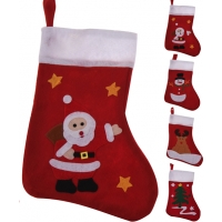 cb5d67df8 Mikulášska ponožka s vianočným obrázkom