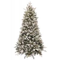 [Vianočný stromček zasnežený so šiškami EMERALD ROSEMARY 3D]