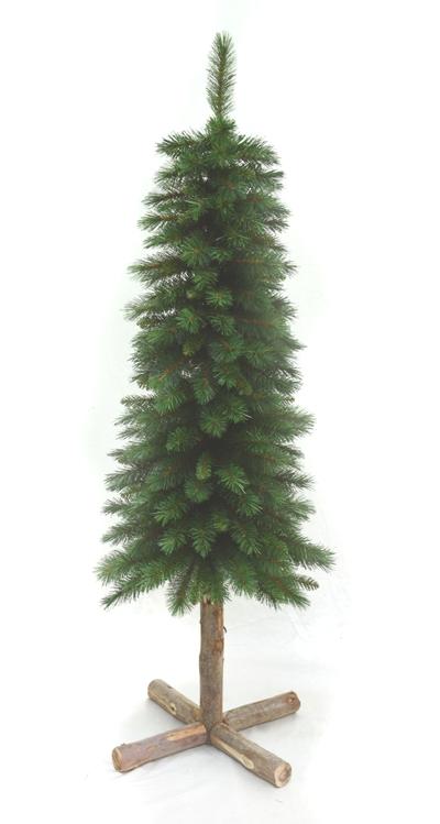 Vianočný stromček s dreveným pníkom SUGAR PINE