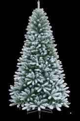 [Vianočný stromček FLOCK zasnežený ]